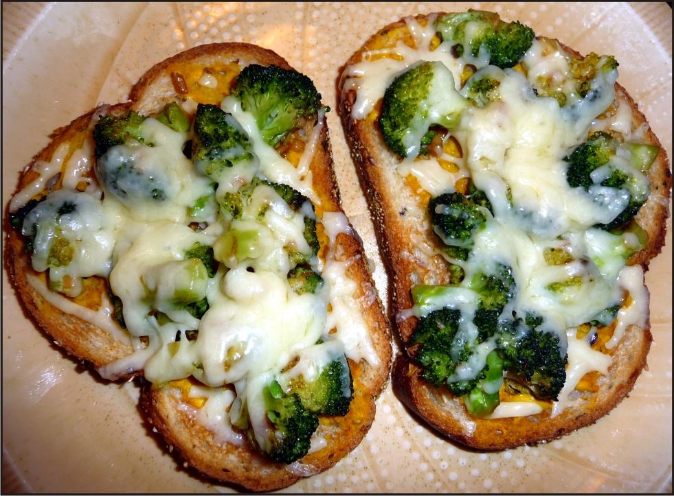 Broccoli Cheddar Melt Sandwiches Recipe