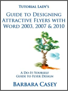 Word Flyer Design Tutorial