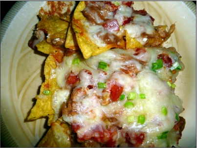 Vegetarian Nachos Grande
