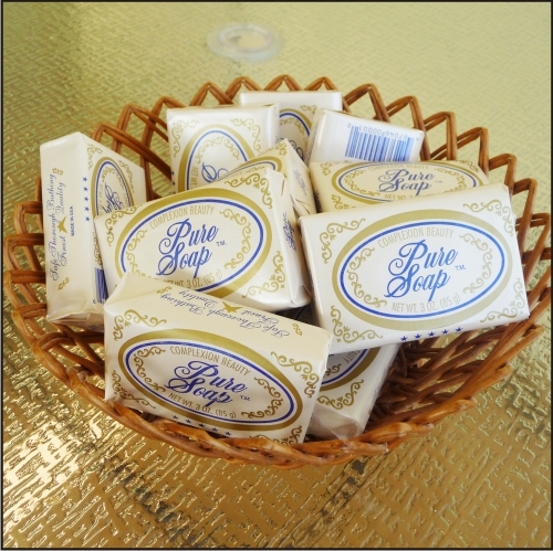 Basket of Cal Ben Pure Soap