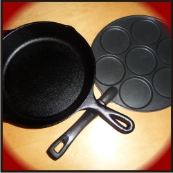 Frying-Pan-Reviews: Cast iron vs. Plett pan