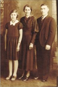 Mother-Grandmother-Grandfather