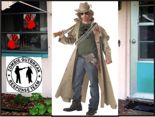 Adult Zombie Hunter Costume - at Amazon