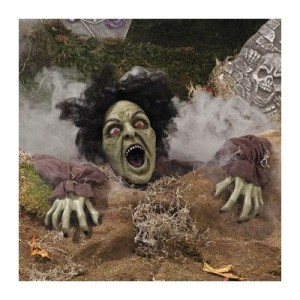 Zombie lawn decoration