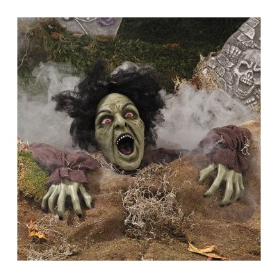 Zombie lawn decoration